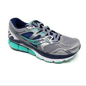 Saucony Redeemer ISO SILVER GREEN running shoes